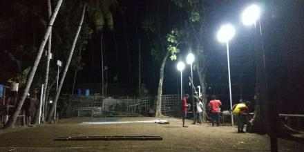 Perbaikan Lapangan dimulai, Pucunggrowong-Padasan Siap Gelar Turnamen Bola Voli antar RT