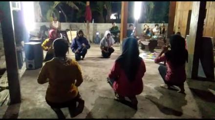 Songsong Hari Jadi Desa Karangtengah Sanggar Seni Laksitamas Gelar Latihan Drama Kethoprak